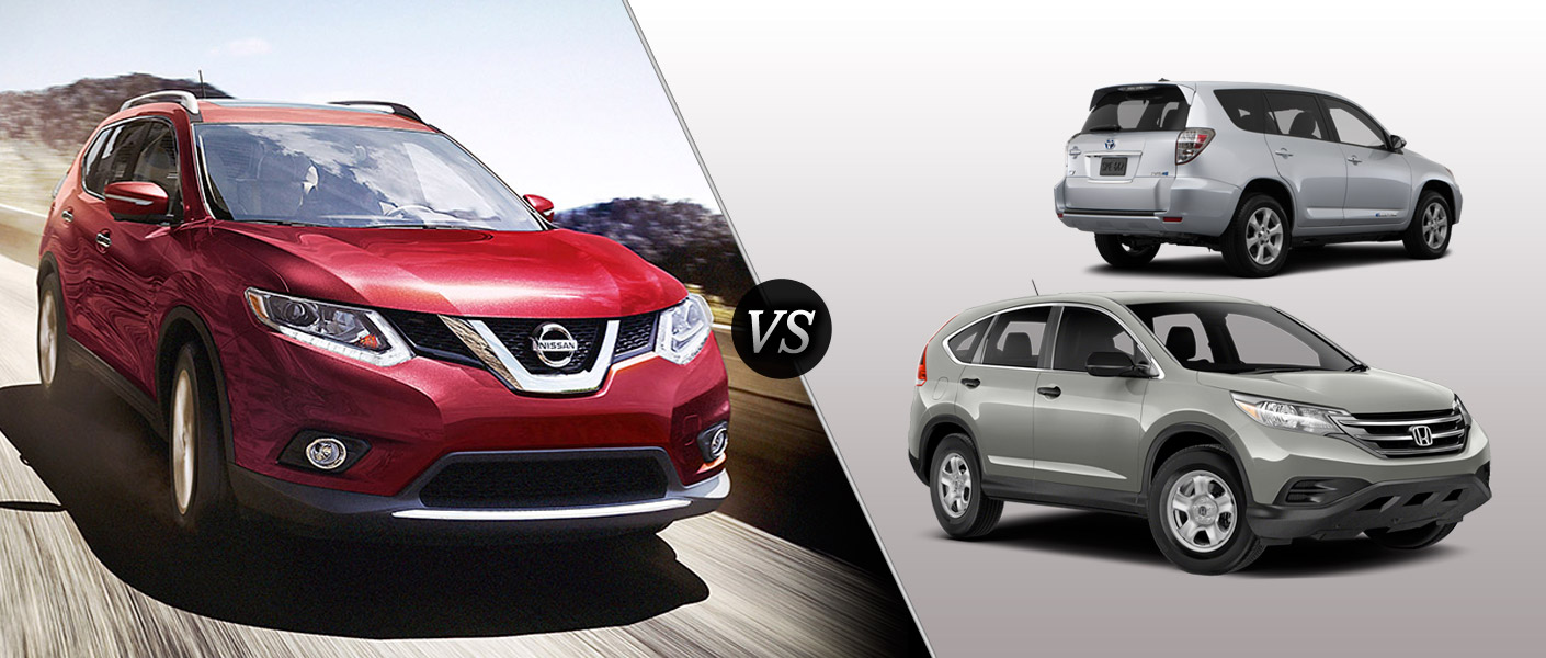 2014 Nissan Rogue Houston TX comparison