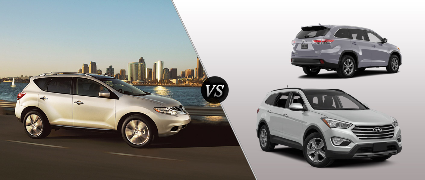 2014 Nissan Murano Houston TX comparison