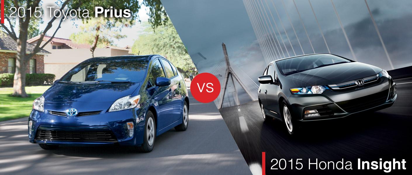 2015 Toyota Prius vs. 2015 Honda Insight