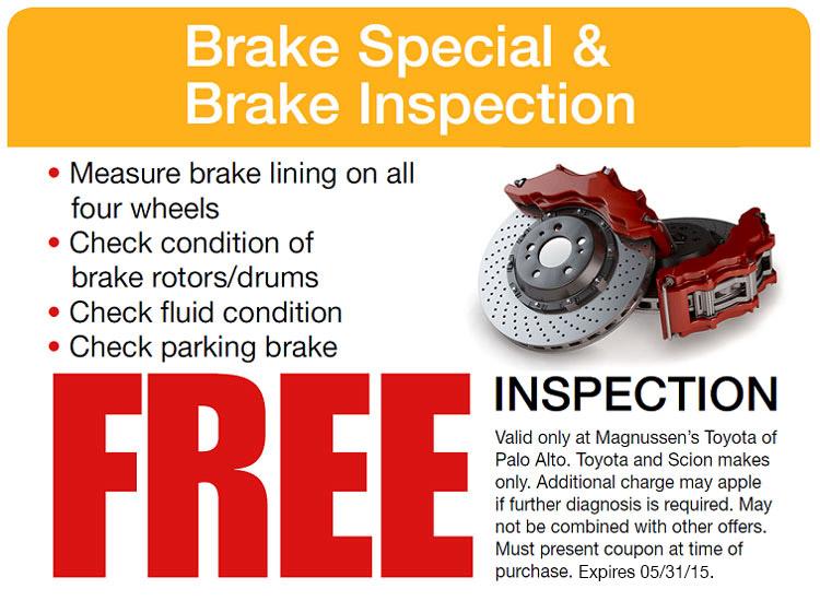 Brake service coupons atlanta